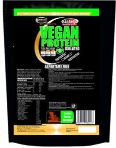 Protéines Vegan Végétale en poudre 90% de protéines | gr 750 vanille | Pour les végétariens et les végétaliens | 3 sources de protéines | libération progressive | Libération lente | Ne contient pas d'aspartame et de gluten | augmenter la masse musculaire favorise la récupération | Vegan Protein Isolated
