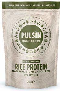 Pulsin' Protéine de Riz Poudre 250 g