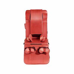 QRFDIAN Coussin de siège de massage à 8 moteurs avec chaleur | – Cou – Épaule – Masseur pour le dos et les cuisses avec chauffage | pliable