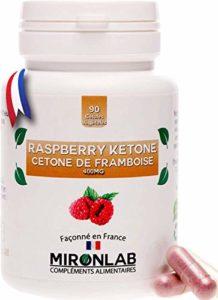 Raspberry ketone complément minceur 400mg / gélule | Pur concentré de cétone de framboise | Brûle graisse et facilite la perte de poids