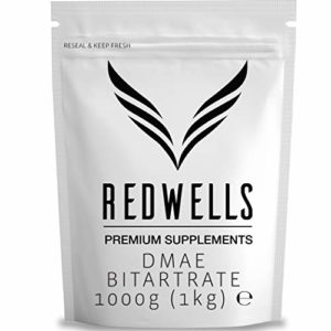 REDWELLS Pure DMAE bitartrate Poudre cognitive Enhancer