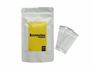 Resveratrol en Poudre. Antioxydant de très haute qualité à base de raisin rouge. Innovation Suisse.