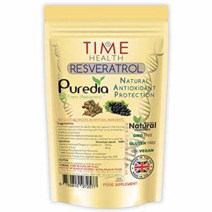 Resveratrol: Trans-Resvératrol naturel – protection antioxydante – 180 capsules