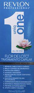 REVLON PROFESSIONAL UNIQONE Masque en Spray sans Rinçage pour tous Types Cheveux 10 Bienfaits Bleu Lotus, 150ml