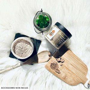 Rhassoul en poudre – Argile Purifiante du Maroc 100% Naturelle et Hypoallergénique – Masque Peau et Cheveux – 250g