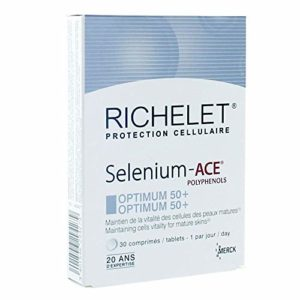 Richelet Protection Cellulaire Selenium-Ace Optimum 50+ 30 Comprimés