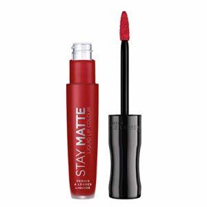 Rimmel – Stay Matte Liquid – Rouge à lèvres mat liquide – Fire Starter -5ml