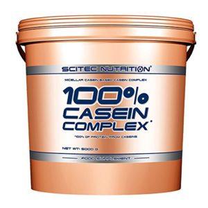 SCITEC Nutrition 100% Casein Complex – 5 kg Chocolate belga