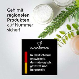 Sérum d'acide hyaluronique végétalien haut dosage – 50ml – Fabriqué en Allemagne – Anti-âge + Anti Rides – pure qualité haute dosage avec 4 ingrédients