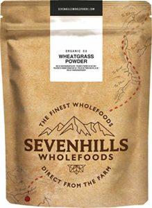 Sevenhills Wholefoods Poudre D'Herbe De Blé Bio de d'Europe 500g