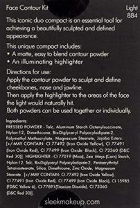 Sleek Makeup Kit de poudre compacte contour du visage