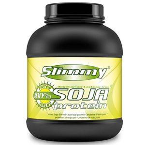 SLIMMY – Protein Diet – 100% isolat protéique de soja, Végan – 1000g chocolat