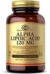 Solgar, Alpha Lipoic Acid, 120 mg, 60 Veggie Caps