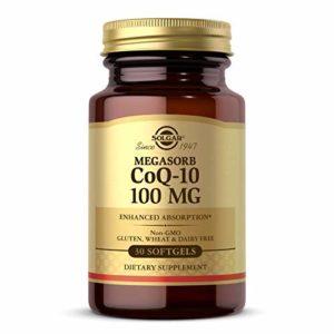 Solgar Megasorb CoQ-10 100 mg Softgels, 30 S Gels 100 mg
