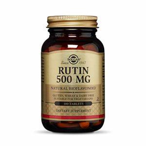 Solgar Rutin 500 mg Tablets, 100 Tabs 500 mg