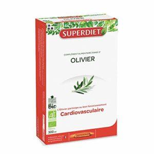 SuperDiet Olivier Bio Circulation 20 ampoules de 15ml soit 300ml
