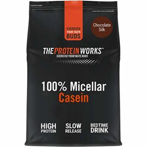 THE PROTEIN WORKS 100% Caséine Micellaire, Chocolat Onctueux, 500g