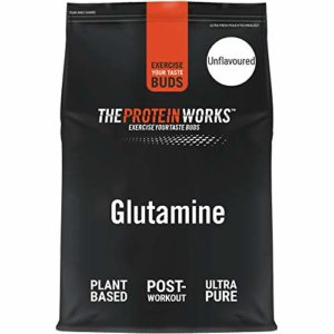 THE PROTEIN WORKS Acides Aminés Glutamine, Nature, 250g
