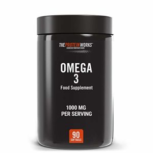 THE PROTEIN WORKS Omega 3, 90 Comprimés