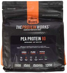 THE PROTEIN WORKS Protéines de Pois 80, Nature, 500g