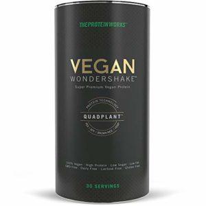 The Protein Works Vegan Protéine Wondershake Texture Lisse/son Goût Crémeux Changent la Donne sans OGM/Gluten Duo de Chocolats