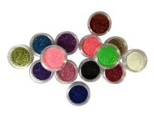 TOPBeauty 24 Loose GLITTER Eyeshadow Eye shadow Face Body Painting Paint Craft Nail Art by TOPBeauty