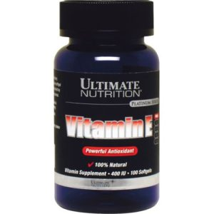 Ultimate Nutrition Vitamine E Softgels 100 Standard