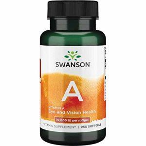 Vitamin A 10,000 IU, 250 softgels