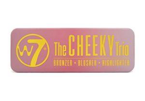 w7 Cheeky Trio Bronzer/Blush/Illuminateur 141 g