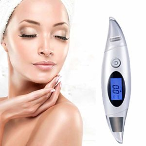 Winnes Facial Spatula épurateur de peau spatule faciale ultrasons Dissolvant de points noirs Remover de pores Extracteur Lifting Resserrement de la peau Nutriments leading in