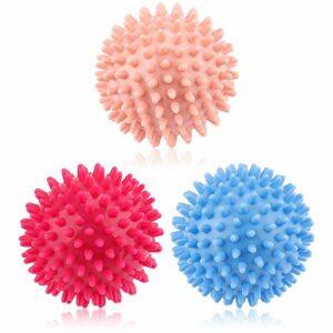 3pcs Balle de Massage, Boule Fascia, Boules de Massage à Picots Pour La Fasciite Plantaire, Réduction du Stress et Relaxation, Rétablissements Musculaires