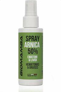 BidMamba Spray Arnica Huile Massage 100ml Made In Italy | Spray Arnica Huile De Massage, Huile Arnica Decontracturant Musculaire, Anti Inflammatoire, Huile De Massage Arnica Mal De Dos, Douleur Bras