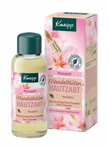 Kneipp – Huile de massage – Fleurs d'amandier – Peaux douces – 100 ml