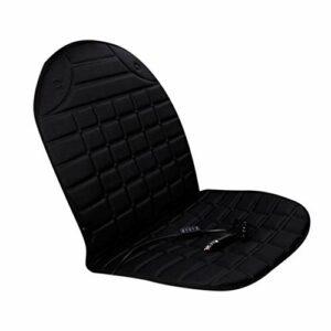 KoelrMsd Coussin de siège arrière Shiatsu avec Pression Thermique Shiatsu Masseur de Dos Complet Coussin de Chaise de Massage pour Une Utilisation à Domicile