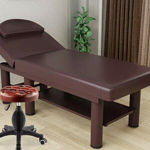 Middle Table de Massage Portable Table de Massage Ergonomique Domestique Options de Couleurs Multiples Tatouage Tatouage Aiguille physiothérapie lit de beauté