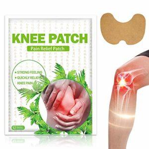 Patch Chauffant, Patch Anti Douleur, Patch Auto-chauffant, Soulager la douleur au genou au muscles les articulations, 24 Pièces