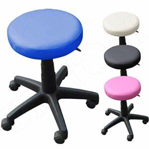 Tabouret A roulettes RÉGLABLE PIVOTABLE Chaise Atelier Massage MANUCURE Maison – Bleu
