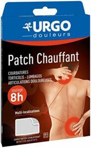 Urgo – Patch chauffant – Adhésif longue durée – Soulage les douleurs musculaires – 13×9,5cm