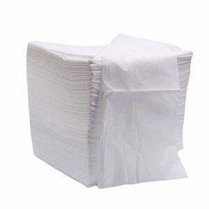 200Pcs Drap De Lit Jetable Portable,Drap De Lit Non Tissé Pour Table De Massage De Salon De Beauté,Linge De Lit De Couverture De Massage De Tatouage De Couverture De Lit,Respirant,Blanc,170*70cm