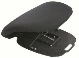 AUTONOMIE ET BIEN ETRE Coussin Releveur Hydraulique Confortable Coussin Idéal Chaise/Siège/Canapé pour Personnes Agées/Handicapées Noir 1 Unité