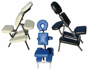 Beltom Fauteuil/Chaise de Massage Tatouages Tattoo Traitement Pliante Portable Table – Crème