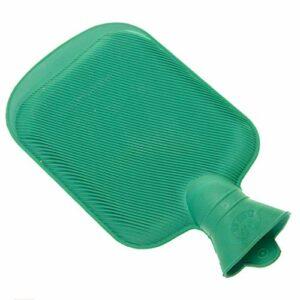 Bouillotte en caoutchouc à injection d'eau chaude portable en caoutchouc pour l'hiver