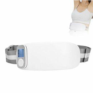 Ceinture de massage abdominale à la taille, masseur chauffant de l'utérus à compression chaude et soulagement de la douleur avec fonction de massage chauffant à température constante de 38 à 45 ℃ (ave