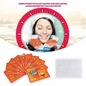 Chauffe-main de patch autocollant chaud portable, autocollant chaud, chauffe-corps, pour fille pour frissons froids