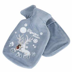 Chauffe-mains rempli d'eau mignon et chaud meilleur cadeau pour le jour de Noël
