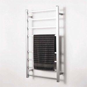 Chauffe-serviettes chauffant électrique pour salle de bain – En acier inoxydable – Étanche – Température constante – 10 bars – Poli – 85 W