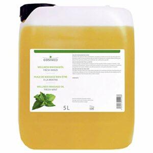 cosiMed Massageöl Fresh-Minze, Massage Öl, Wellness, Therapie, 5 l