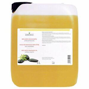 cosiMed Massageöl Zitrusfrüchte, Massage Öl, Wellness, Therapie, 5 l