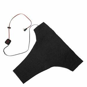 Coussin de Gilet Chauffant, Coussin de Gilet Chauffant réglable USB 5V 2A, Taille de résistance à la Chaleur en Plein air pour vêtements de Gilet