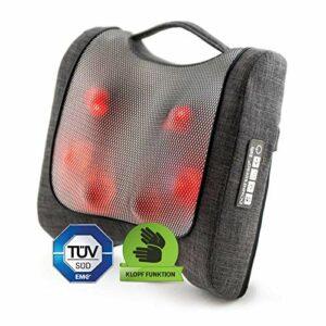 Donnerberg coussin massant Krafty RM099/ Relaxation, soulagement des douleurs/masseur du dos/avec la fonction tapotage et chaleur infrarouge/appareil de massage shiatsu pour le dos et les cervicales